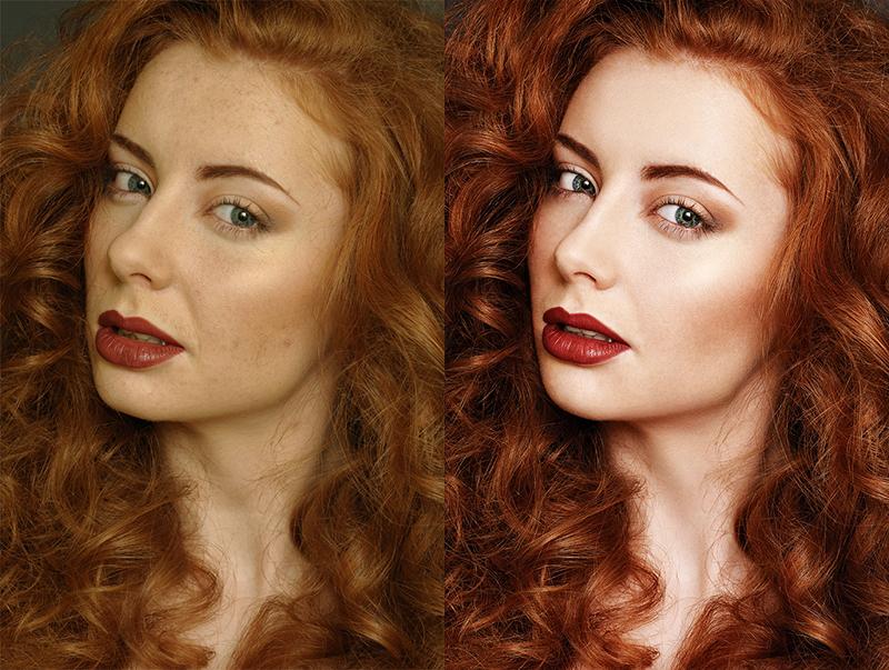 Как сделать чистый цвет при обработке фото
