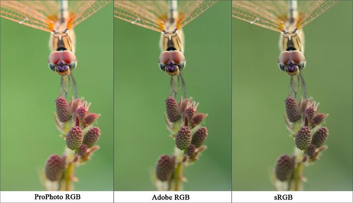Цветовой профиль изображения - модель RGB