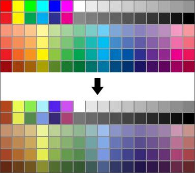 Цветовой профиль изображения - sRGB