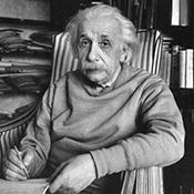 Фотограф Альфред Эйзенштадт - Альберт Эйнштейн дома, 1949