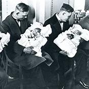 Фотограф Альфред Эйзенштадт - Молодые отцы, 1931