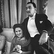 Фотограф Альфред Эйзенштадт - Сальвадор Дали и Гала