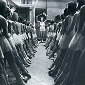 Фотограф Альфред Эйзенштадт - Балетная школа в Берлине, 1931