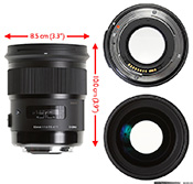 Объектив Sigma 50mm F1.4 DGHSM Art – Дизайн и конструкция