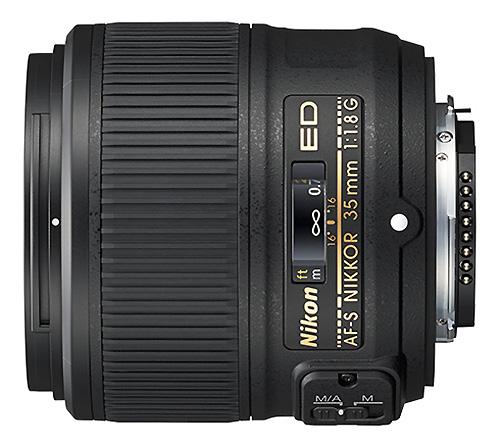 Объектив AF-S Nikkor 35мм f/1.8G