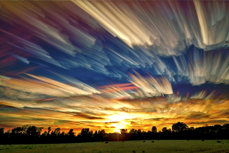 Фотографии облаков Мэтта Маллоя