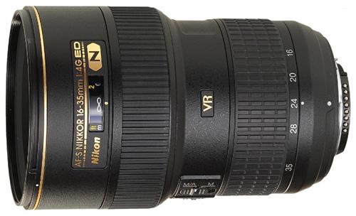 Объектив Nikon AF-S Nikkor 16-35mm 1:4G ED VR