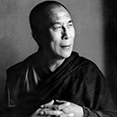 Далай Лама. Фотограф Херб Ритц