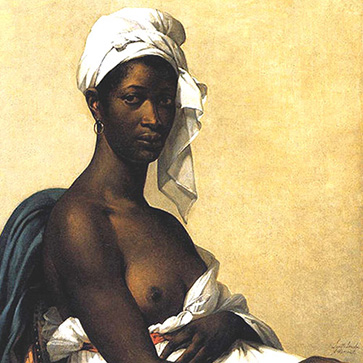 Гийемин Бенуа «Портрет негритянки»