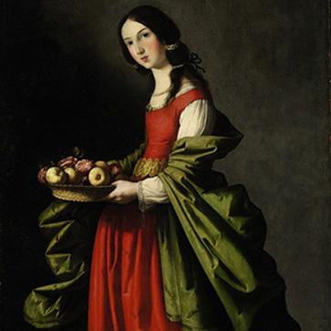 Франсиско де Сурбаран «Святая Доротея»
