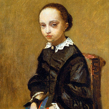 Камиль Коро «Портрет девочки»
