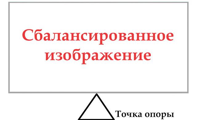 Композиция в фотографии — Правая и левая половина
