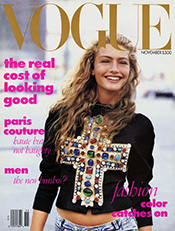 Фотограф Питер Линдберг (Peter Lindbergh) — Vogue US — 1988