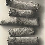 Фотограф Ирвинг Пенн (Irving Penn) — Окурки (The cigarettes) — Натюрморт (Still life)