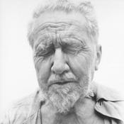 Портрет Эзры Паунда (Ezra Pound) - Фотограф Ричард Аведон (Richard Avedon)