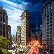 Flatiron 9/11, NYC - Фотограф Стивен Уилкс (Stephen Wilkes)