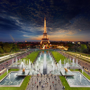 Eiffel Tower, Paris - Фотограф Стивен Уилкс (Stephen Wilkes)