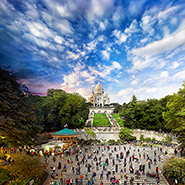 Sacre Coeur, Paris - Фотограф Стивен Уилкс (Stephen Wilkes)