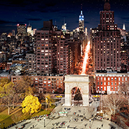 Washington Square Park, NYC - Фотограф Стивен Уилкс (Stephen Wilkes)