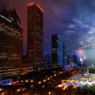 Millennium Park, Chicago - Фотограф Стивен Уилкс (Stephen Wilkes)