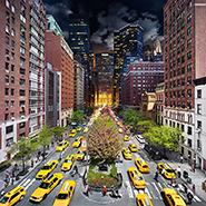 Park Avenue, NYC - Фотограф Стивен Уилкс (Stephen Wilkes)