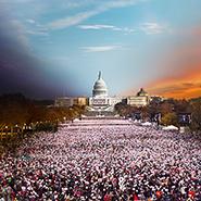 Инаугурация президента, Washington - Фотограф Стивен Уилкс (Stephen Wilkes)