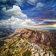 Grand Canyon National Park, Arizona - Фотограф Стивен Уилкс (Stephen Wilkes)