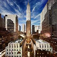 Rockefeller Center, NYC - Фотограф Стивен Уилкс (Stephen Wilkes)