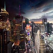 Times Square, Новый Год, NYC - Фотограф Стивен Уилкс (Stephen Wilkes)
