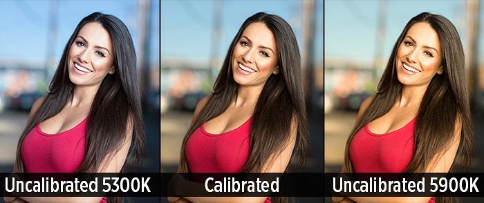 Калибровка - Выбор компьютера для ретуши