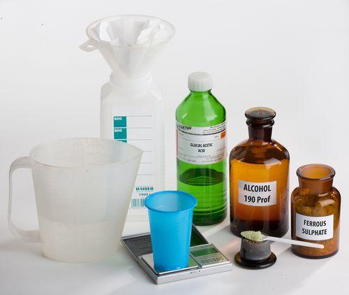 Приготовление серебра - Химия процесса - Амбротип