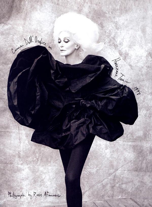 Старейшая топ-модель Кармен Дель' Орефайс - Фотошкола Михаила Панина
