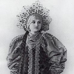 Русский костюм - История моды